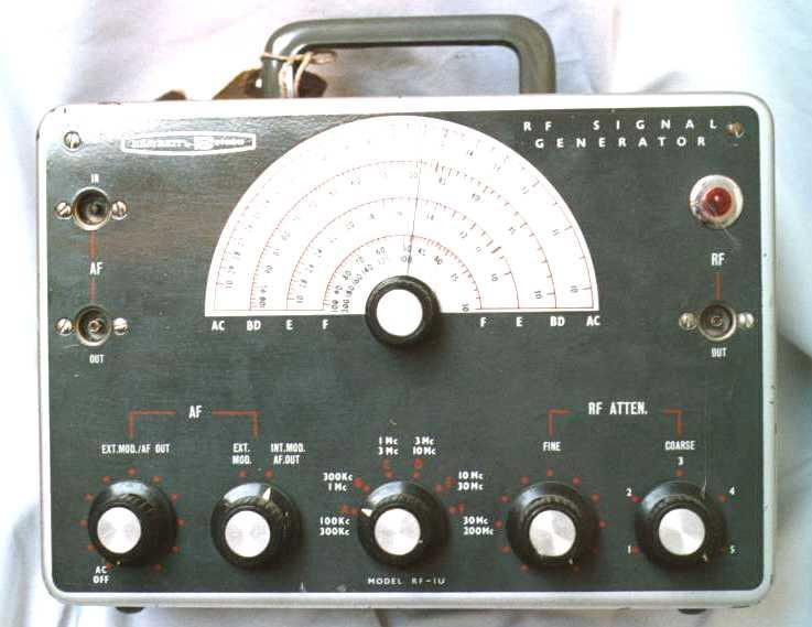 Heathkit RFU-1 Signal Generator